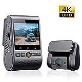 VIOFO A129 PRO DUO 4K UHD 前後カメラ 前後2カメラ GPSドライブレコーダー ドラレコ SONY製センサー 夜間撮影に強い Wi-Fi搭載 駐車監視 日本語説明書(129ProDuo)