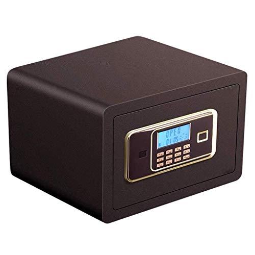 Dozen & Organisatoren VEILIGE BOX, klein numeriek toetsenbord elektronisch wachtwoord sleutel opbergkast alarmsysteem - multi-color -35X25X25cm Keys Box 5-7 Brons