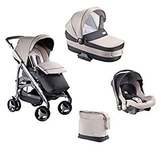 Inglesina Zippy System Pro Sistema Trio 3 in 1 con Passeggino, Carrozzina e Seggiolino Auto, da 0 a 15 Kg, Granito - Telaio incluso (B07N7HMGFJ) | Amazon price tracker / tracking, Amazon price history charts, Amazon price watches, Amazon price drop alerts