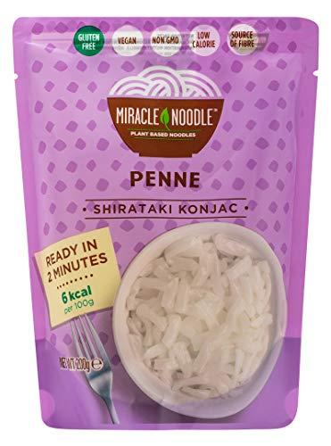 Penne Shirataki di Konjac Miracle Noodle Confezione da 10 pacchetti