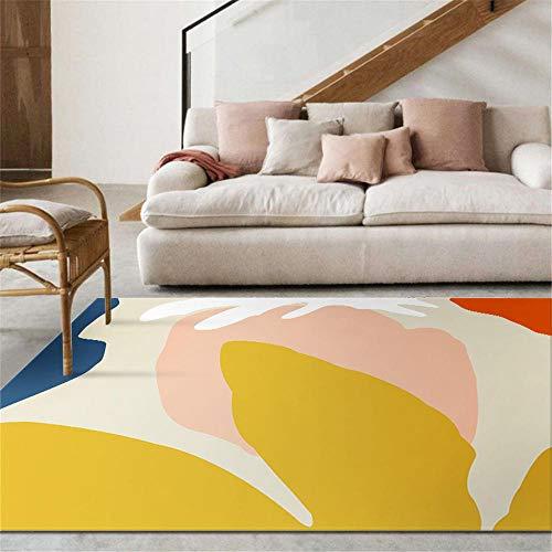 alfombras salon modernas cuadro comedor La alfombra de la habitación de los niños es rectangular...