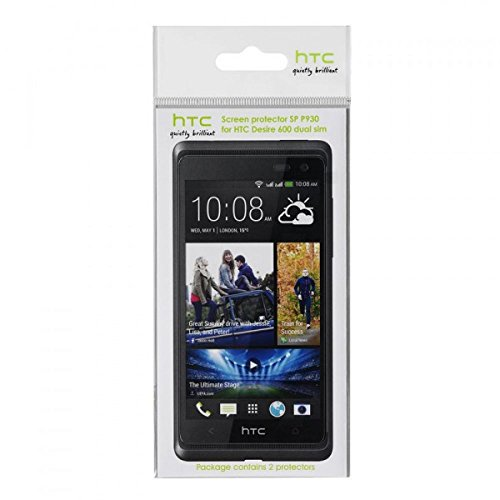 HTC 66H00129-00M Displayschutzfolie Desire 600 Dual SIM (2-Stück Blister)