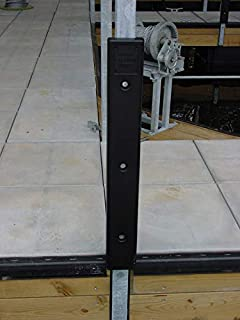 AMRK-KR25B * 3 Ft. Post Bumper with 2 1/2