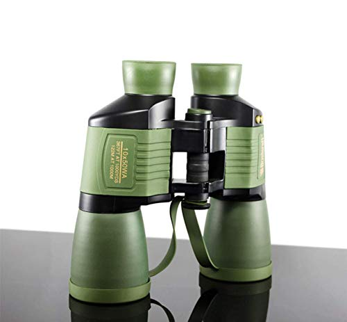 Binoculares 10X50 Autofocus Alta resolución en HD Telescopio de visión nocturna a prueba de agua para observación de aves al aire libre Astronomía Escalada Adultos y niños Camping Visitas turísticas