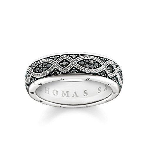 THOMAS SABO – Thomasblock Silber Rebel at Heart Herrenring Größe 54