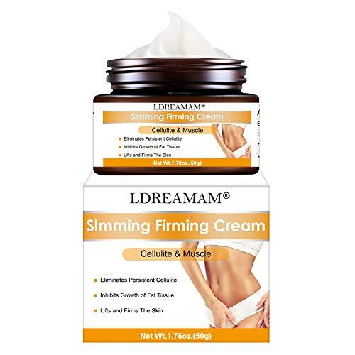 Crema Anticellulite,Slim cream,Crema Snellente,Crema Rassodante,Hot crema naturale per cosce, gambe, addome, braccia e glutei per modellare il corpo