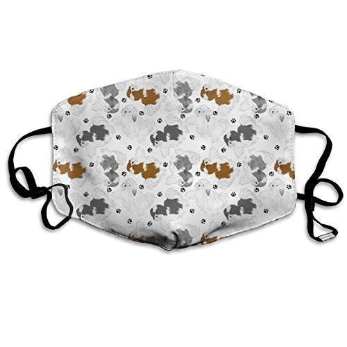 N\C Kit de Aseo para Mascotas Afeitado Afeitado Cortapelos Cortapelos para Mascotas Carga USB Silencio
