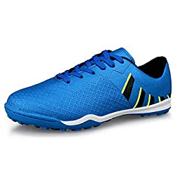 giày đá banh nam (size 7) Hawkwell Men's Athletic Lightweight Running Outdoor/Indoor Comfortable Soccer Shoes (Amazon