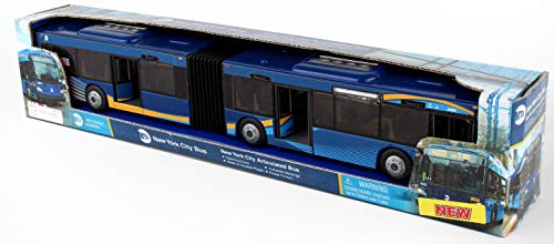 MTA Model Bus New York City Articulated Bus New Paint Scheme 1:43 Scale Daron