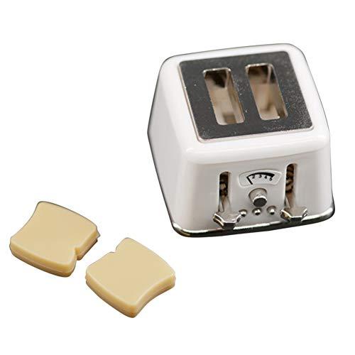MeterMall Mini broodrooster speelgoed voor 1:12 poppenhuis DIY-accessoires