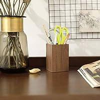 クルミの湾曲した柳の木のペンホルダー中国の木製のペンホルダーレトロなスタイルの木製のペンホルダー日本の創造的なペンホルダー