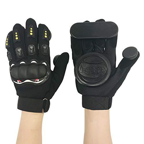 IMPORX Downhill Slide Gloves Handschuhe,Erwachsene Freeride Grip Slid Skate Handschuhe Schutzhandschuhe für Skateboard/Longboard/Skater