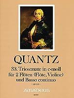 QUANTZ - Trio Sonata en Do menor (QV:2/3) para 2 Flautas y Piano (Ausbach/Kostujak)