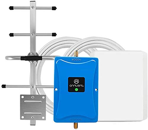 Verizon 4G Cell Phone Signal Booster for Home and Office - Enhance Your Data and Voice Over LTE 700MHz Band 13 Signal Repeater and Panel/Yagi Antennas - FCC Approved