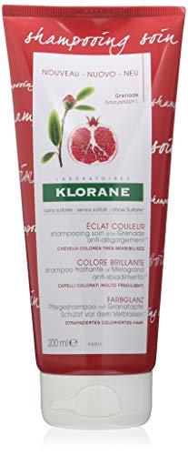 KLORANE - KLORANE Champú a la Granada para Cabellos con Color 200 ml