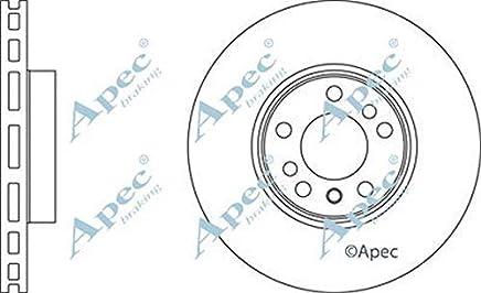 Apec Brake Disc DK6005 Pair