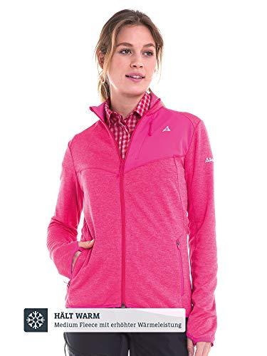 Schöffel Damen Fleece Jacket Houston1, rosa, 38