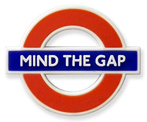 GWC London Underground Mind The Gap Rubber Koelkast Magneet