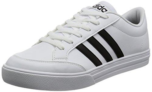 Adidas Men's Vs Set Cblack/Ftwwht Tennis Shoes-10 UK/India (44 2/3 EU) (BC0130)