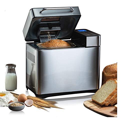 COOCHEER Machine à Pain, 19 Programmes Programme sans gluten Machine a Pain avec Écran et Minuteur Programmable 15H, 710W