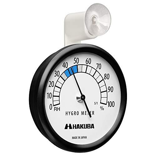 HAKUBA カメラ保管用 アナログ湿度計 C-83 外から確認しやすいアーム型吸盤付き KMC-83