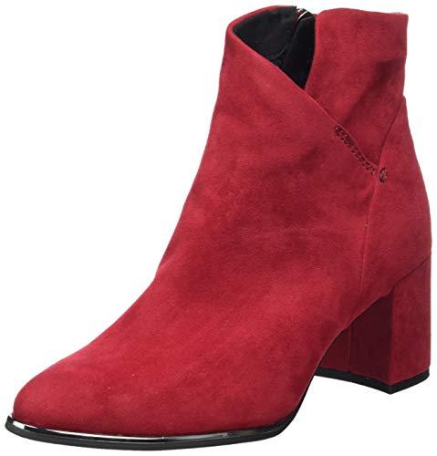 MARCO TOZZI 2-2-25095-35, Stivali alla Moda Donna, Rosso, 36 EU