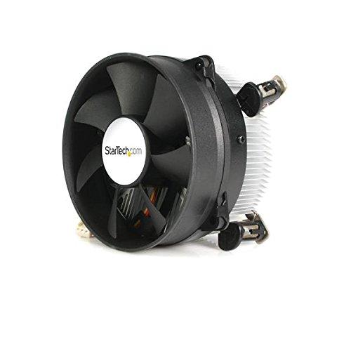 StarTech.com Ventilador Fan Disipador CPU Procesador Core 2 Duo Pentium 4 Socket 775 TX3 95mm - Ventilador de PC (Enfriador, Procesador, 8,5 cm, Negro, Aluminio, 12V)