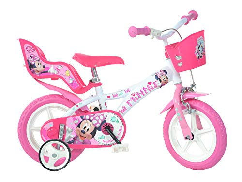 Dino Bikes 612L-NN Minnie Bicycle, 12-Inch Mouse, Pink