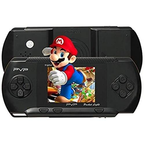 TOYVALA TV Video Game PVP with Mario (Black)
