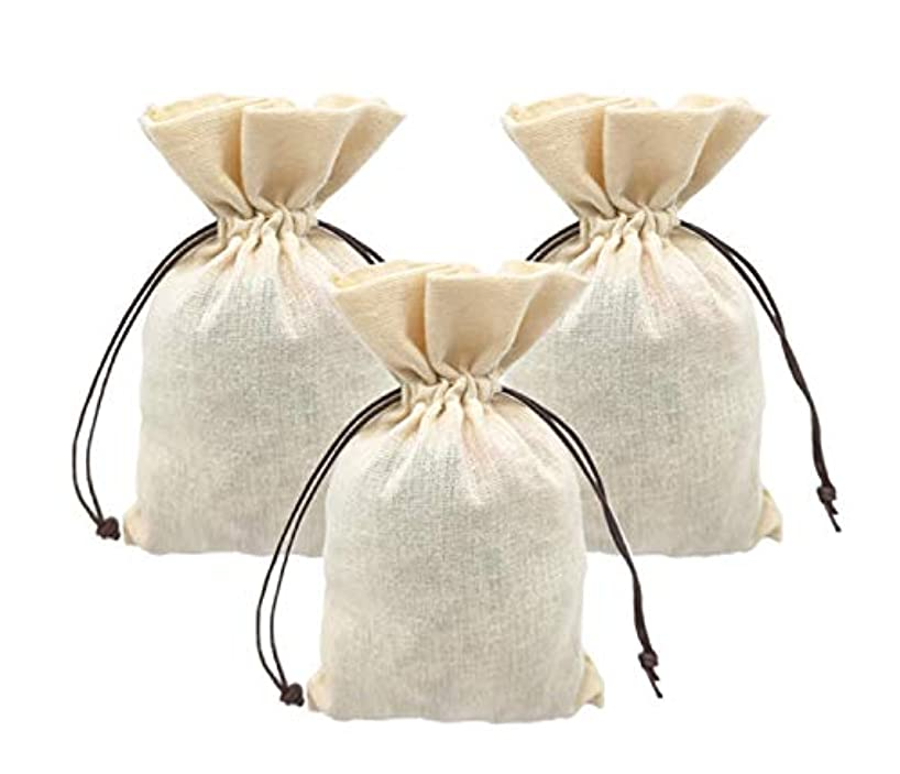 Burlap Bags with Drawstring Muslim Bags Wedding Bridal Shower Birthday Goodie Party Favor/Jewelry/DIY Crafts Projects