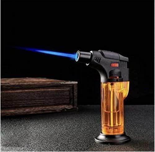Alkey Stylish Butane Lighter Sharp Small Jet Flame Refillable Cigarette Lighter Variation (Jet Flame Torch Barbeque)