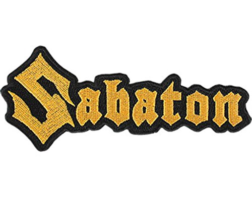 Sabaton Logo Cut Out Patch / Aufnäher