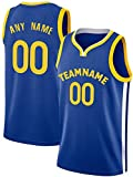 Custom G.S.W. Basketball Jersey Uniform Personalized Shirt Team Name & Number Present Gifts Jerseys for Men Women Younth