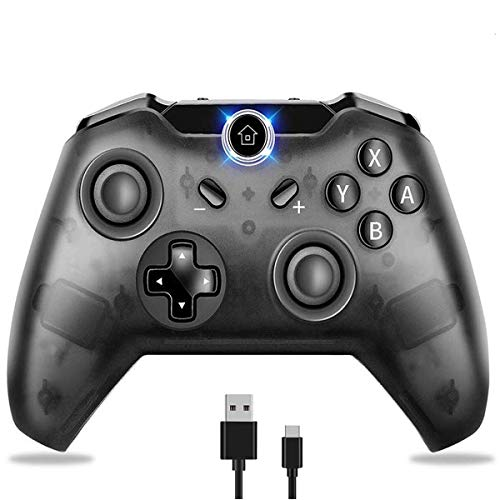 Wireless Controller für Switch, AndThere Switch Bluetooth Pro Controller PC Gaming Kontroller Kabelloses Joystick Remote Fernbedienung für Switch mit GyroTurbo Dual Vibration Screenshot