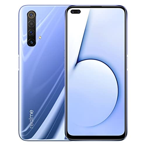 Realme X50 5G Factory Unlocked 48Mp Quad Camera RMX2144 128GB + 6GB Global Version (NO Verizon/Boost) (Purple)