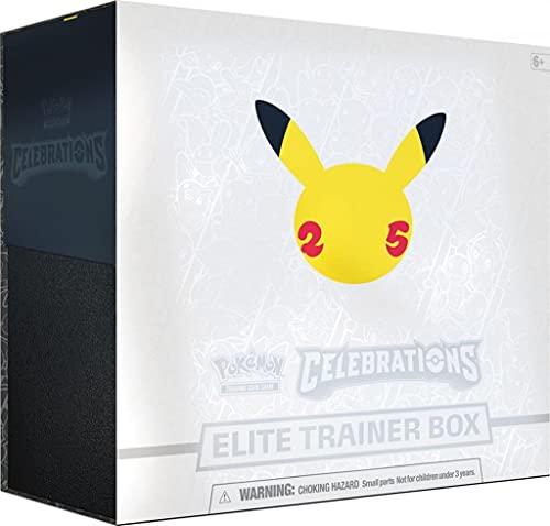 """【英語版】ポケモン 25周年 セレブレーション エリート トレーナー ボックス """" Pokemon Celebrations Elite Trainer Box """""""
