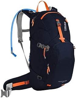 CamelBak Adult-Unisex Fourteener 24 Backpack, Navy Blazer/Lazer Orange, One Size, 3L