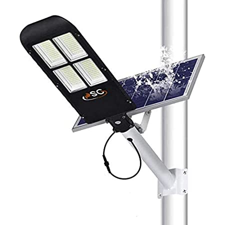 4000W 400000LM 1152 LED Solar Street Light PIR Motion Outdoor Wall Lamp+Remote