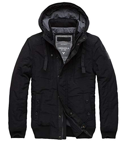 Cordon Berlin Winterjacke Texas Black Größe L