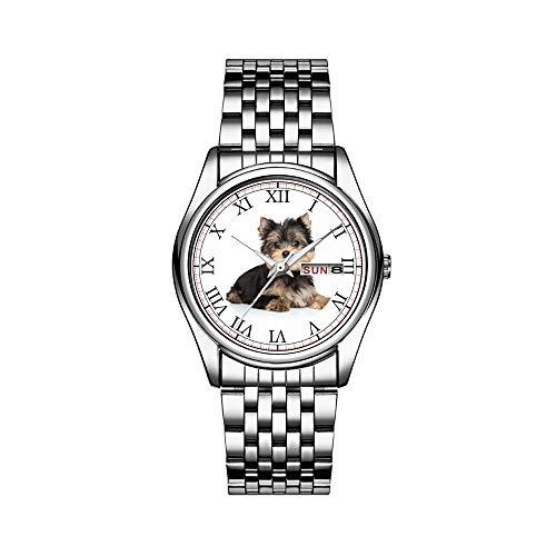 Reloj de pulsera para hombre de lujo, resistente al agua, 30 m, con fecha, reloj de pulsera...