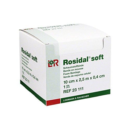 Lohmann & Rauscher Rosidal Weich gepolsterte Bandage, 10x 2,5cm