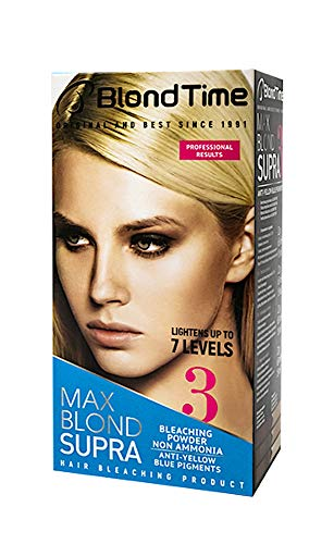 Blond Time, Supra Max Blond producto para el blanqueamiento