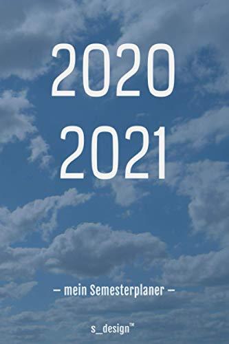 Studienplaner / Studienkalender / Studenten-Kalender 2020 / 2021 - Uni-Planer / Semester-Planer / Studium Notizbuch: [von Oktober 2020 bis Oktober 2021]