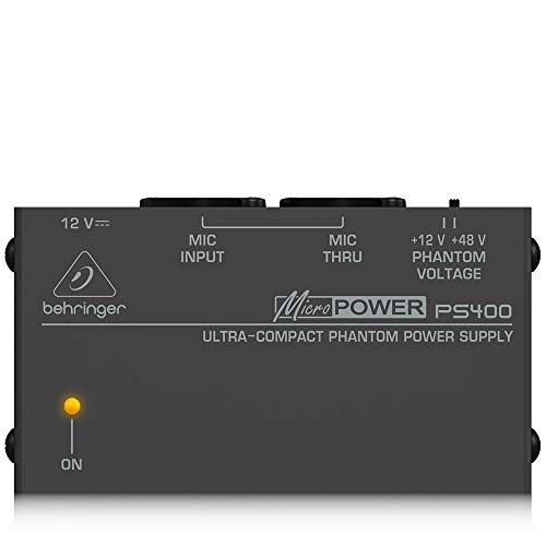 Behringer PS400 Micropower Phantomspeisungs Adapter