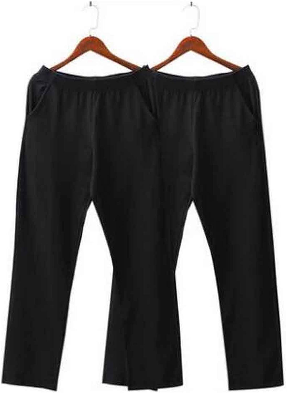 Set of 2 Cotton Men's Sweatpants Men's Pajamas Men's Sweats [H]