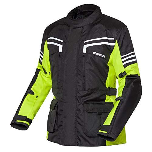 Invictus Chaqueta de moto de hombre invierno reflectante cordura waterproof Anibal (M)