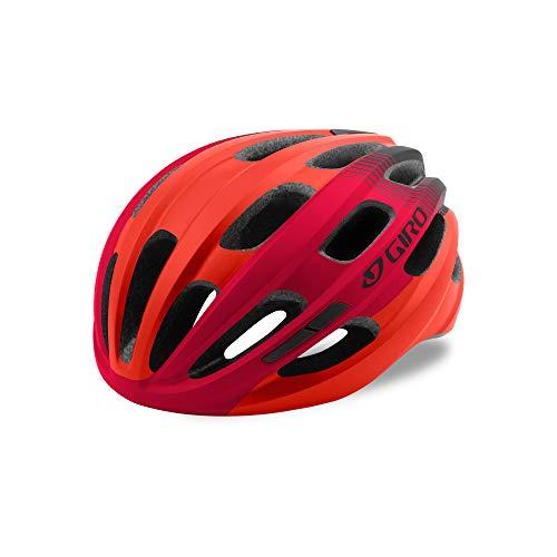 Giro ISODE Casco, Unisex, Mat Red/Black, One sizesize
