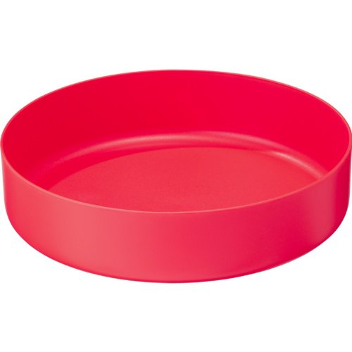 MSR DEEP DISH PLATE SMALL (RED)