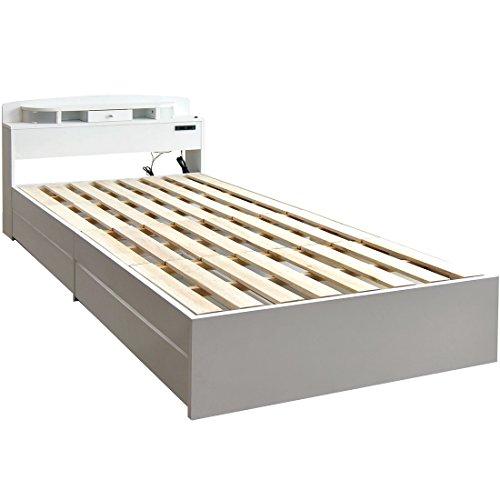 収納付きベッドの画像