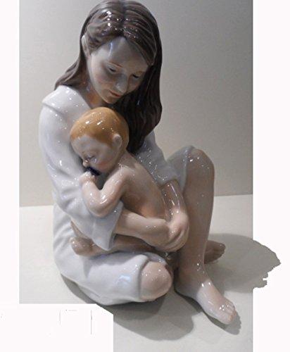 Royal copenhagen 'mamma con bimbo che dorme'